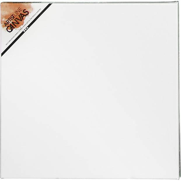 Canvas schildersdoek 50 x 50 cm voor hobby verven en schilderen - hobby materialen artikelen - Schilderijen maken