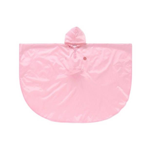 Doiy regenponcho Smile in the Rain 104 cm polyester roze
