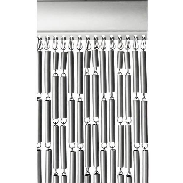 Vliegengordijn Tube - Grijs 90 x 210 cm