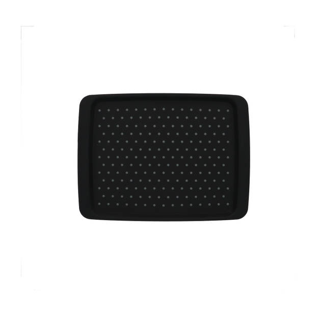 Compact Anti-slip dienblad 35x26x2cm - Zwart