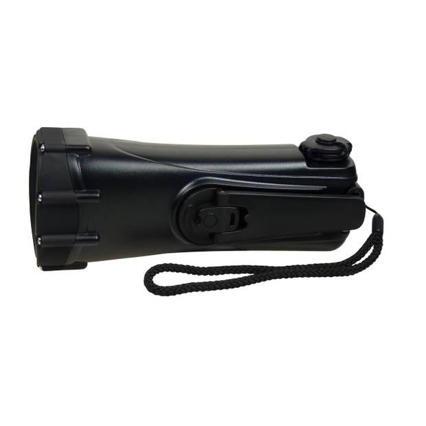 PowerPlus zaklamp led Shark 17 x 7 x 5,5 cm zwart