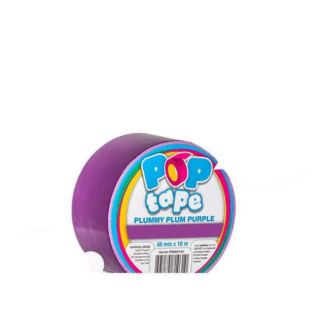 Pop Tape 48mm x 10m - Plummy Plum Purple