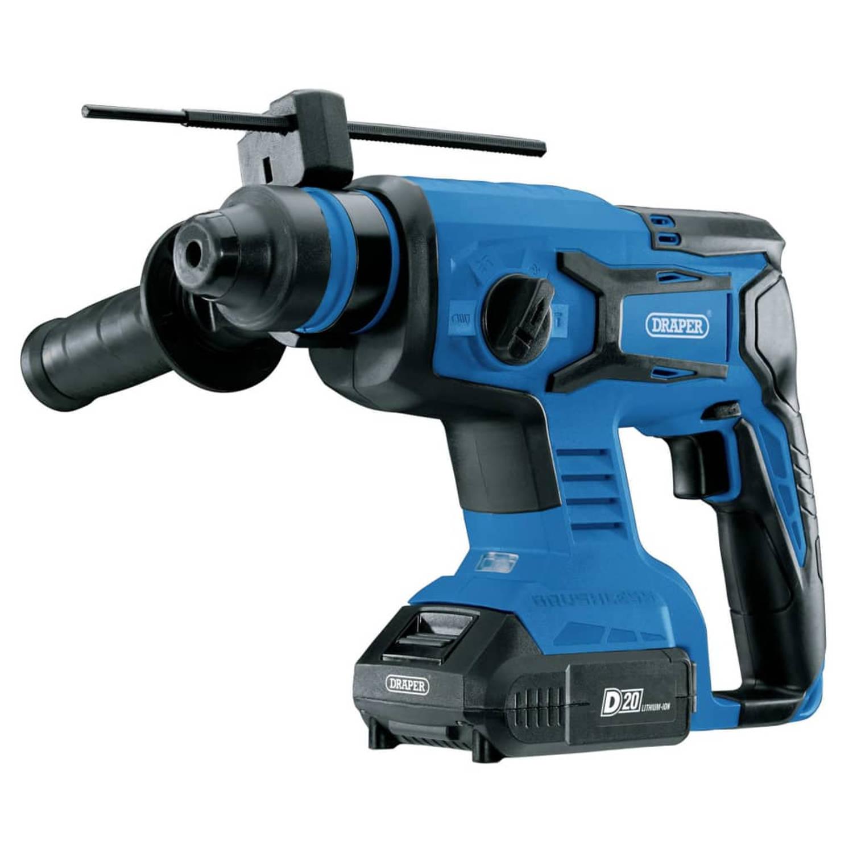 Draper Tools Boorhamer Sds Borstelloos Met 2 X D20 Accu