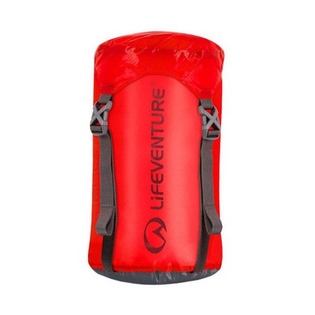 Lifeventure compressiezak 5 liter corduroy/nylon rood
