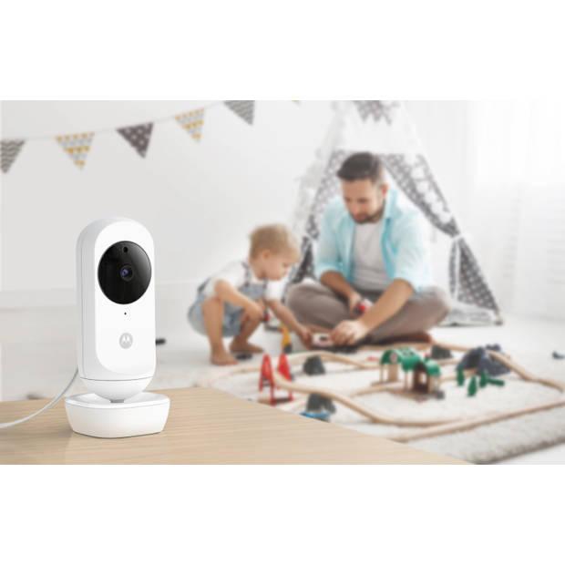 Motorola Babymonitor EASE35 TWIN - Babyfoon - 2 Camera's - Splitscreen - Terugpraatfunctie