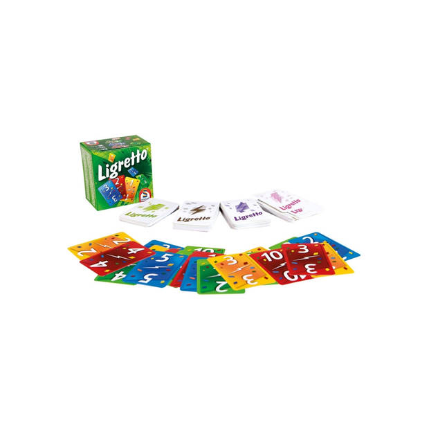 Spellenbundel - Kaartspel - 2 stuks - De weerwolven van wakkerdam: Het Pact & Ligretto