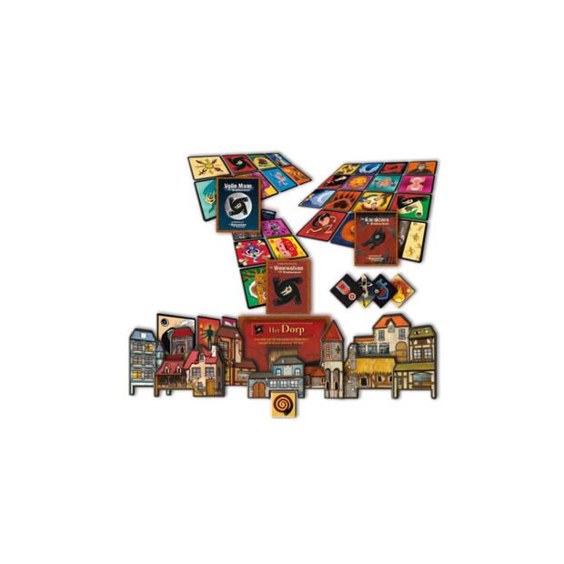 Spellenbundel - Kaartspel - 2 stuks - De weerwolven van wakkerdam: Het Pact & Valse Motten