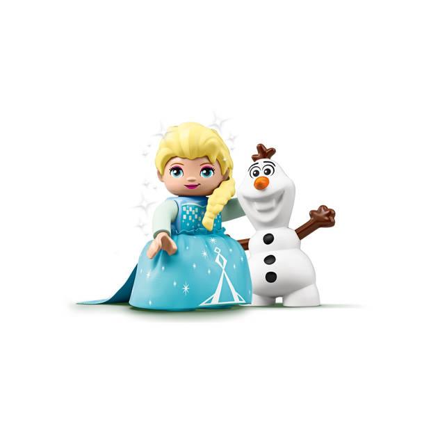 Lego Duplo - Vanaf 2 jaar - 2 stuks - Elsa's en Olaf's IJsfeest & Stoomtrein