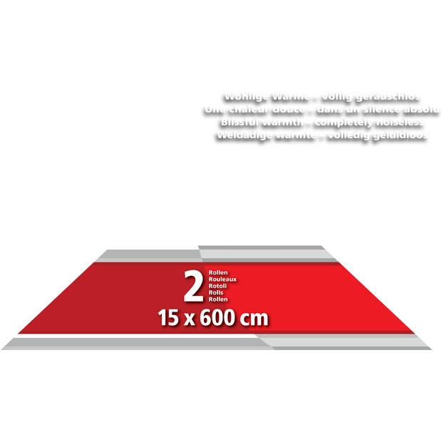 Solis 2 Rollen Vacumeerfolie 15x 600 cm