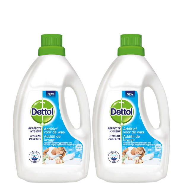 Dettol Was Toevoeging Hygiëne Fresh – 1,5L x2