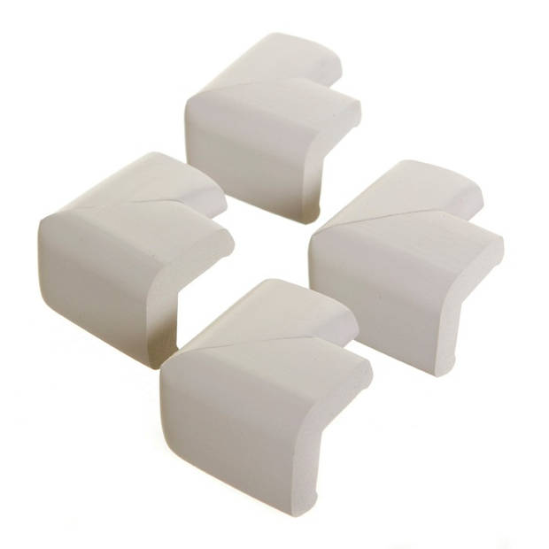 Little Chicks Foam hoekbeschermers wit (4 stuks)