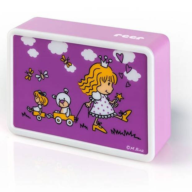 KidsLight creatieve LED-nachtlamp, motief Prinses