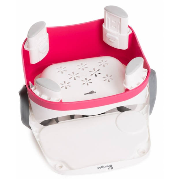 Bo Jungle stoelverhoger B-Booster Seat roze