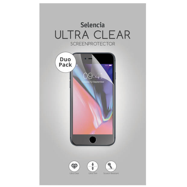 Selencia Duo Pack Ultra Clear Screenprotector voor de Oppo A5 (2020) / A9 (2020)