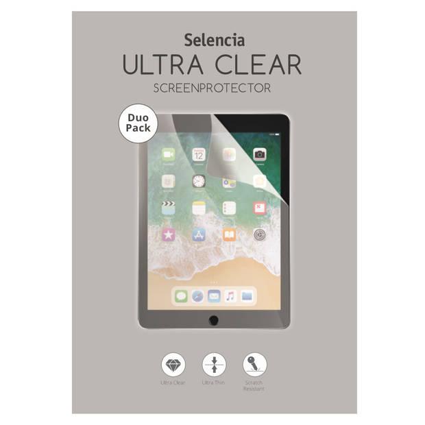 Selencia Duo Pack Ultra Clear Screenprotector voor de Samsung Galaxy Tab S7 Plus
