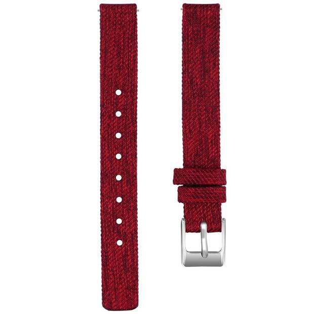 iMoshion Nylon Smartwatch Bandje voor de Samsung Galaxy Fit - Rood
