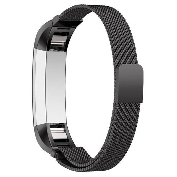 iMoshion Milanees Smartwatch Bandje voor de Fitbit Alta (HR),Fitbit Alta - Zwart