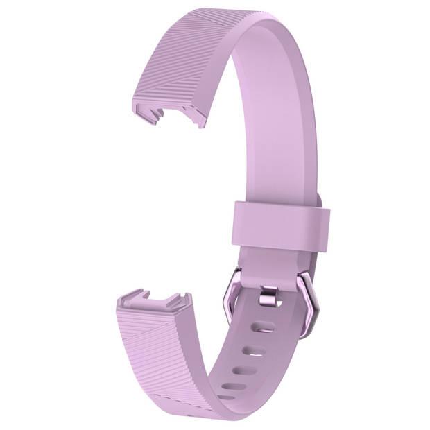 iMoshion Siliconen Smartwatch Bandje voor de Fitbit Alta (HR),Fitbit Alta - Paars