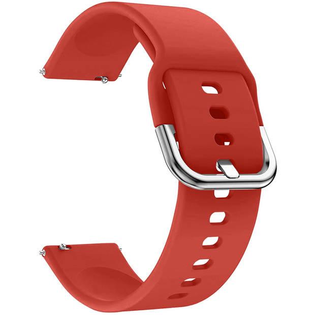 iMoshion Siliconen Smartwatch Bandje voor de Garmin Vivoactive 4L - Rood