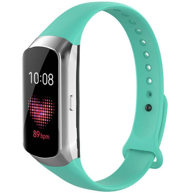 iMoshion Siliconen Smartwatch Bandje voor de Samsung Galaxy Fit - Groen