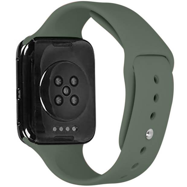 iMoshion Siliconen Smartwatch Bandje voor de Oppo Watch 41 mm - Groen