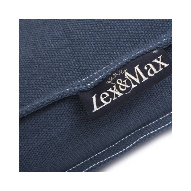 Lex & Max Hondenkussen Keep Calm Grijs - Boxbed - 120 x 80cm