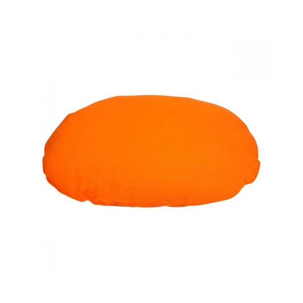 Lex & Max Hondenkussen Tivoli Oranje - Ovaal - 100cm - Kussenhoes