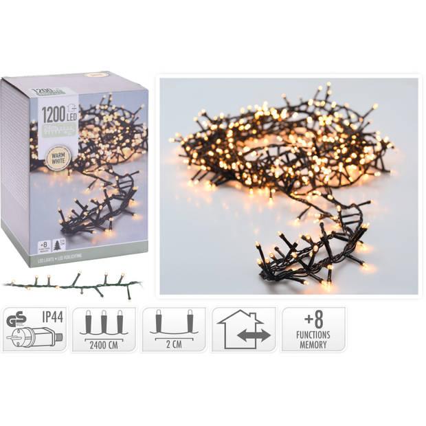 Microcluster 1200 led ww 24mtr