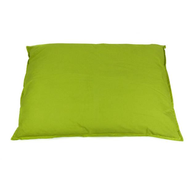 Lex&MaxTivoli-Lossehoesvoorhondenkussen-Rechthoek-100x70cm-Lime