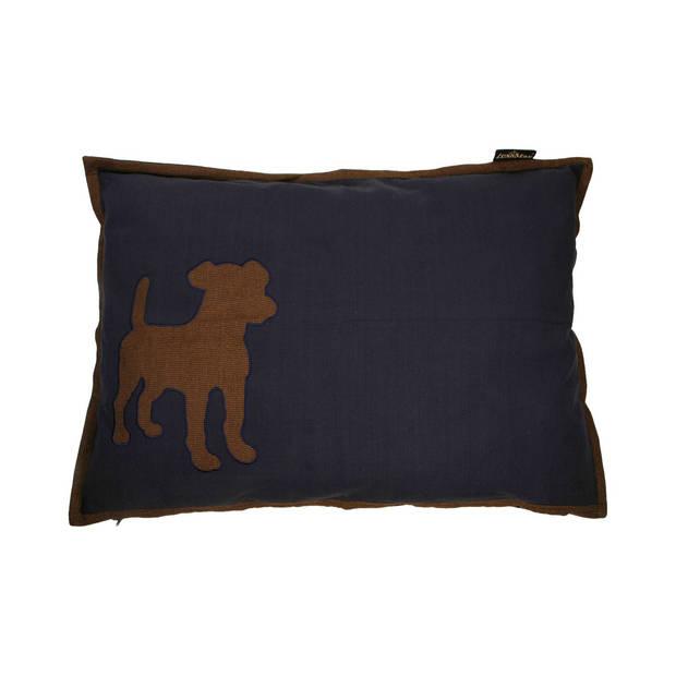 Lex&maxdoglossehoesvoorhondenkussenrechthoek100x70cmdonkerblauw