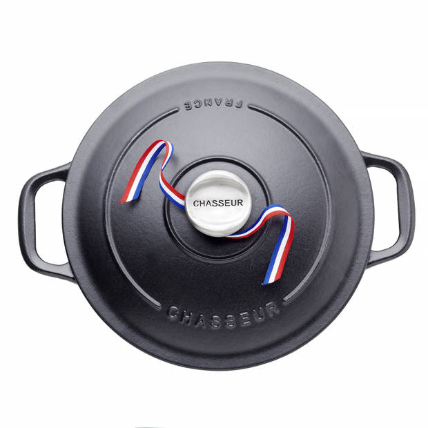 Chasseur Ronde Stoofpan 6,1 L - Zwart