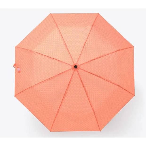 Doiy paraplu vis 98 x 98 x 62 cm aluminium/polyester oranje
