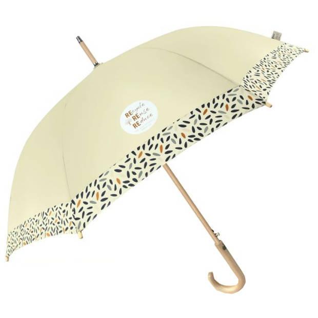 Perletti paraplu unisex 102 cm crème