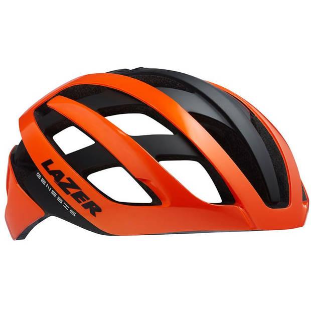 Lazer fietshelm Road Genesis Mips oranje/zwart