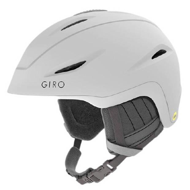 Giro skihelm Fade Mips dames wit/grijs