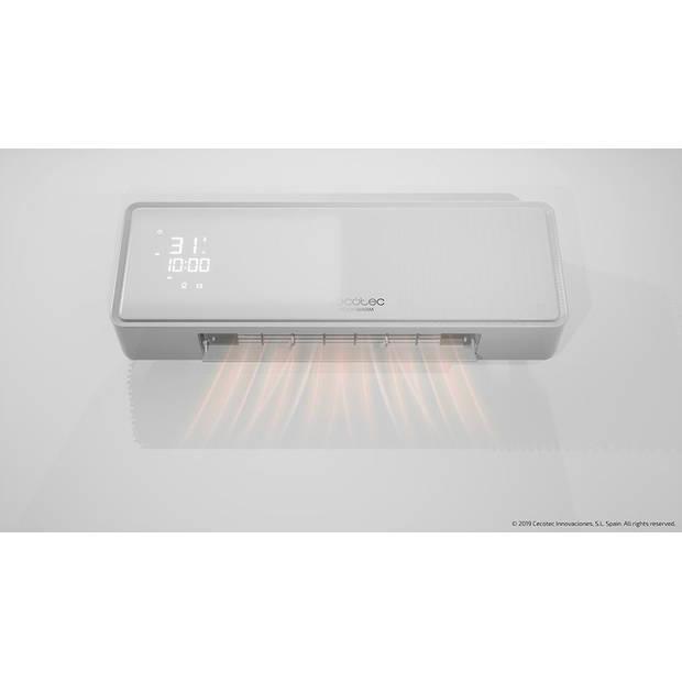Cecotec Ophangbare ventilator - Elektrisch badkamer kachel - Verwarming - Warmte en koude ventilatorkachel - Keramisch