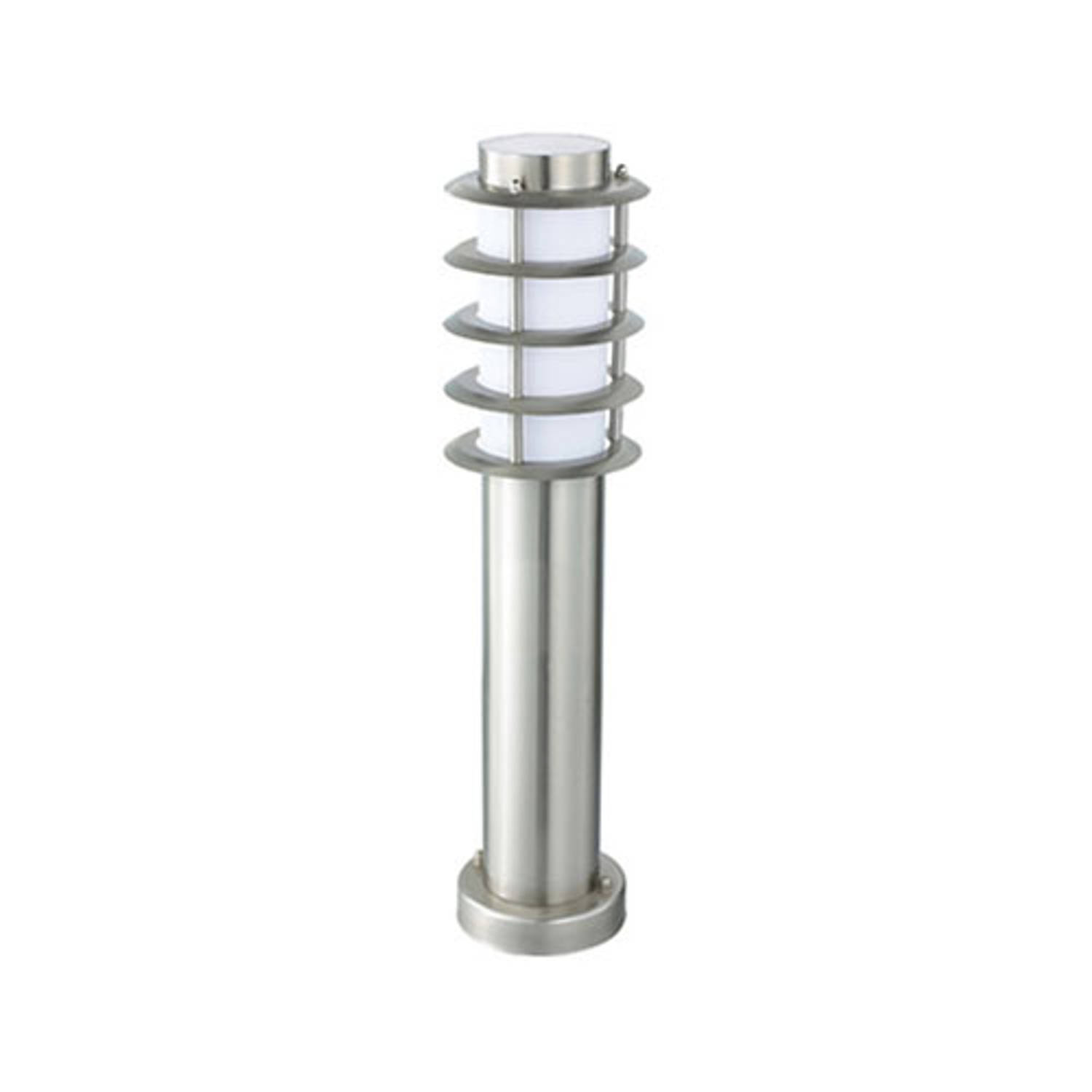 Led Tuinverlichting Buitenlamp Nalid 3 Staand Rvs E27 Rond