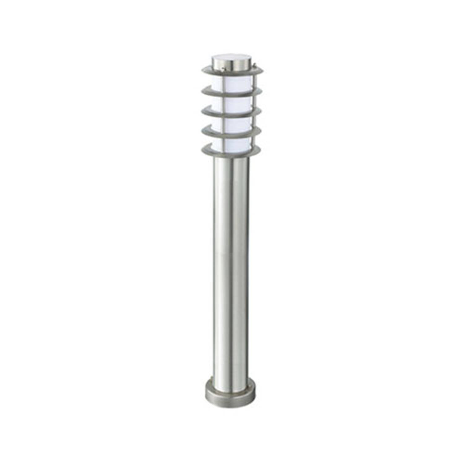 Led Tuinverlichting Buitenlamp Nalid 4 Staand Rvs E27 Rond