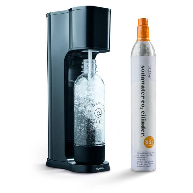 Blokker sodawater maker starterset - zwart