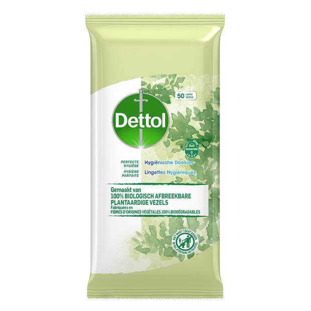 Dettol Schoonmaakdoekjes Bio afbreekbaar Cleanser - 50 stuks
