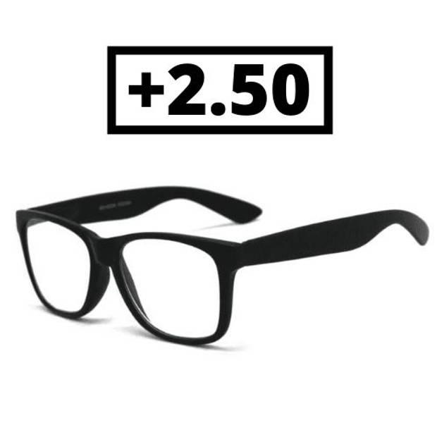 Orange85 Leesbril Zwart +2.50 Heren Dames Uni