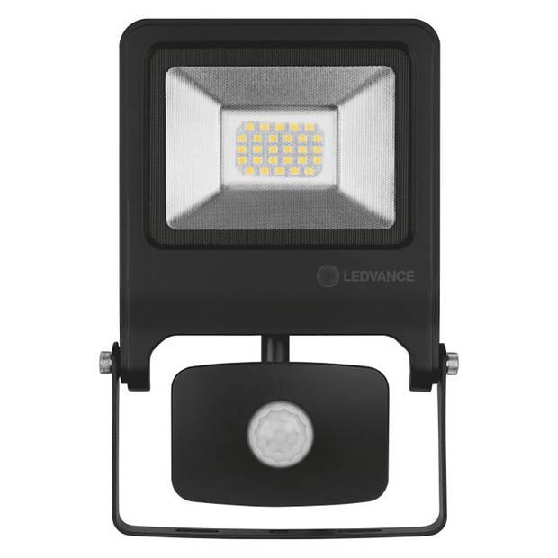 OSRAM - LEDVANCE - LED Breedstraler 20 Watt met sensor - LED Schijnwerper - Natuurlijk Wit 4000K - Spatwaterdicht IP44