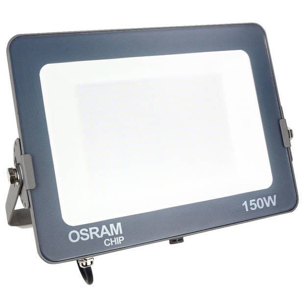OSRAM - LED Bouwlamp 150 Watt - LED Schijnwerper - Warm Wit 3000K - Waterdicht IP65