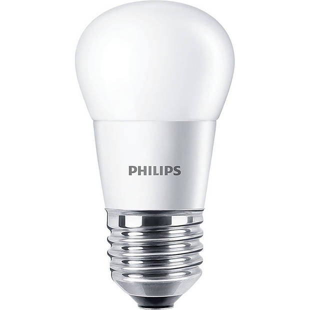 PHILIPS - LED Lamp 10 Pack - CorePro Lustre 827 P45 FR - E27 Fitting - 4W - Warm Wit 2700K Vervangt 25W