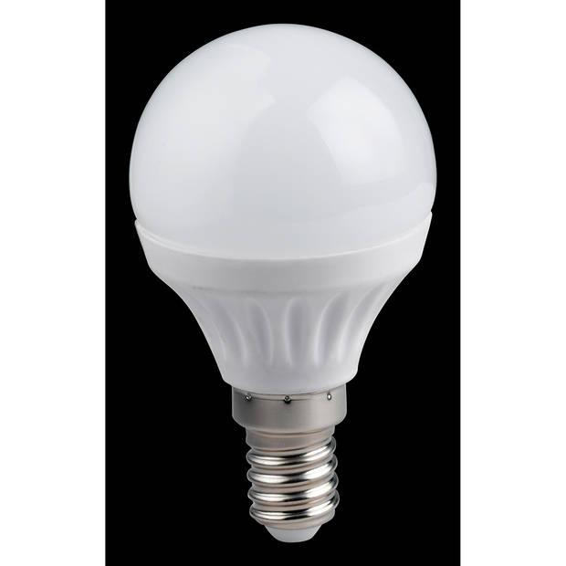 LED Lamp WiZ - Smart LED - Trion Akusti Bulb - E14 Fitting - 5W - Slimme LED - Dimbaar - Mat Wit - Kunststof