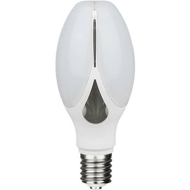 SAMSUNG - LED Lamp - Viron Anton - Bulb - E27 Fitting - 36W - Natuurlijk Wit 4000K - Mat Wit - Aluminium