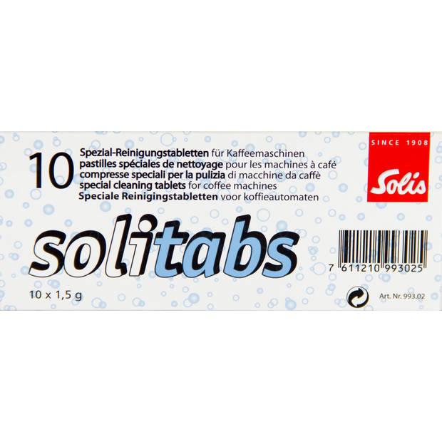 Solis Solitabs 10 Espressomachine Reinigingstabletten - Pistonmachine