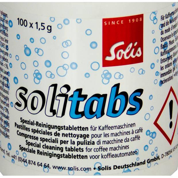 Solis Solitabs 100 Espressomachine Reinigingstabletten - Pistonmachine