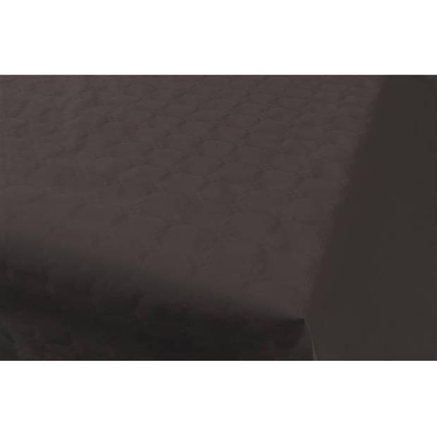 Haza Original tafelkleed damastpapier op rol 1,18 x 8 m zwart