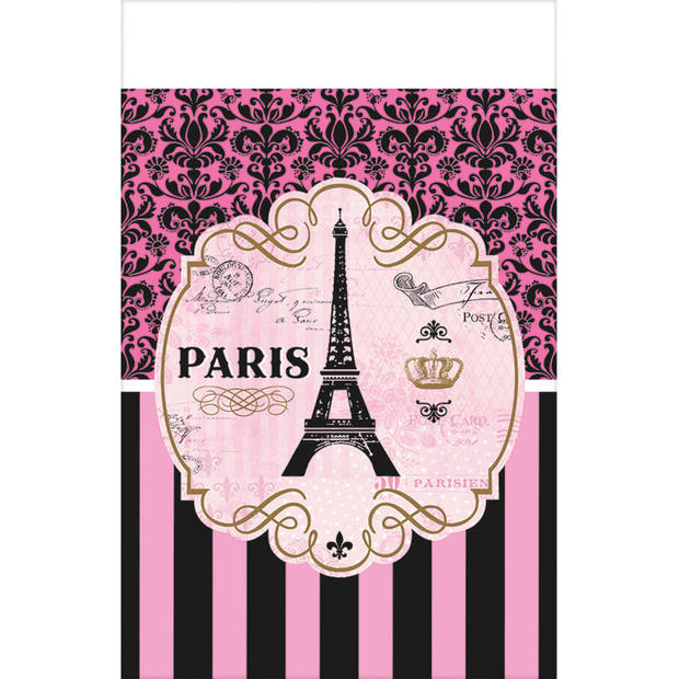 Amscan A Day In Paris tafelkleed 259 x 137 cm